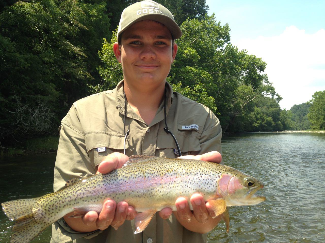 South holston river rainbow trout riverstone fly fishing for South holston river fishing report