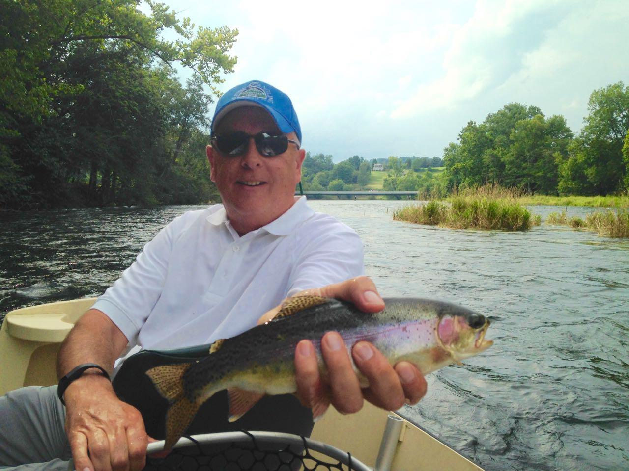 South Holston River Rainbow Trout Riverstone Fly Fishing