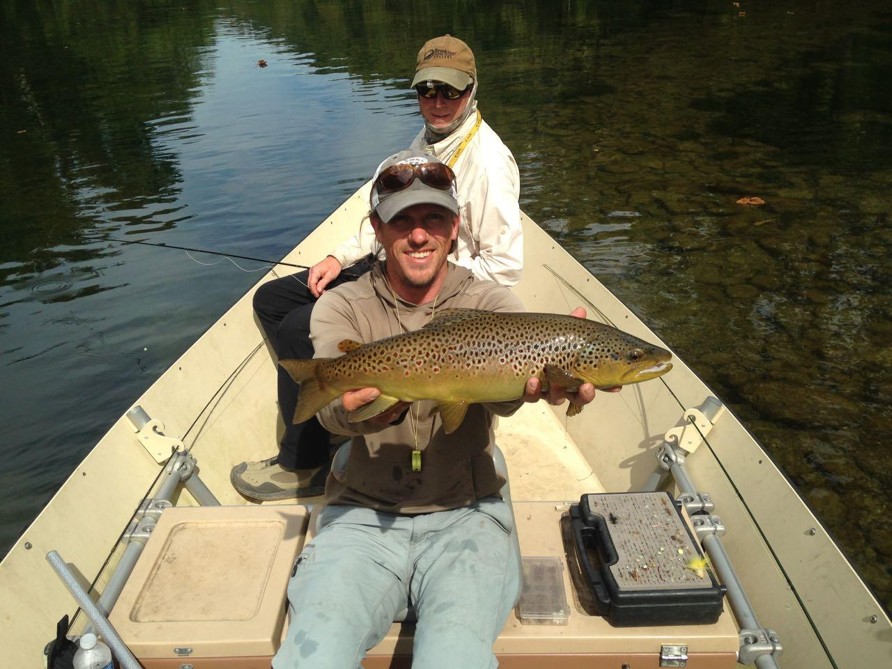 South holston brown trout riverstone fly fishing for South holston river fishing report